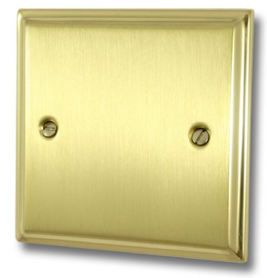 Deco Plate Mixed Brass